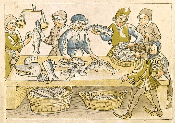 Fishmarket in the Council time